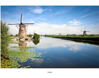 Postcard_014 - Kinderdijk (the Netherlands)