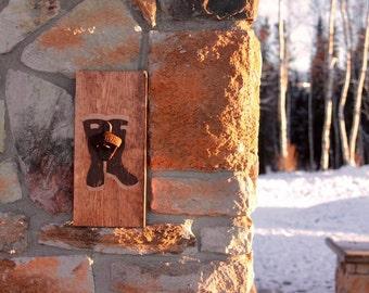 Wall Mounted Bottle Opener *Made in Alaska*