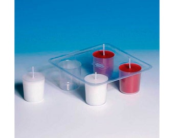Mold for votive candles