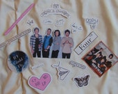 One Direction Sticker Variety Pack (17 Stickers)