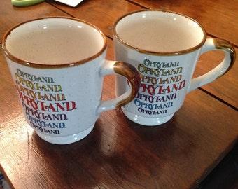 Opryland mugs