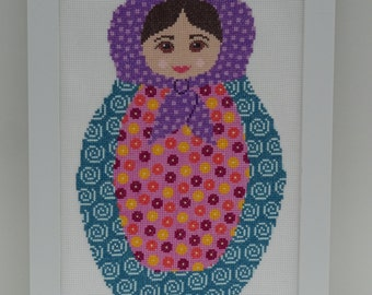 BETTY BABUSHKA Cross Stitch Design PDF Pattern by Mezzdesign
