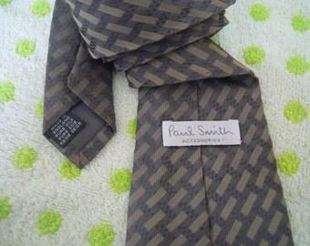 VBT033 : Vintage Paul Smith 100% Silk Made In England Mens Necktie