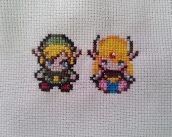 Link Zelda 8bits