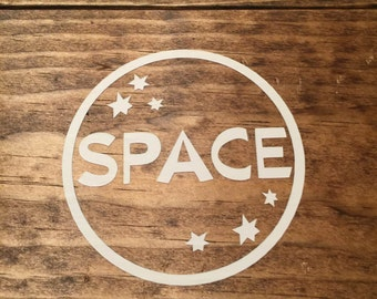 Space Decal
