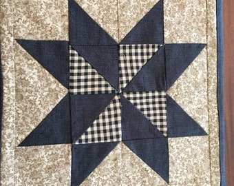 Primitive Country Candle Mat
