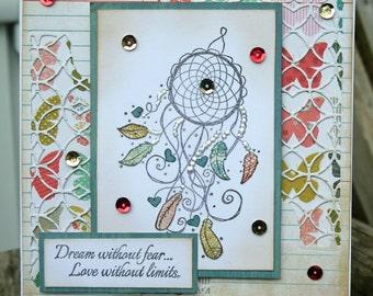 Dreamcatcher Handmade Card