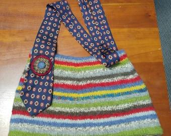 Winter Stripes Shoulder Bag