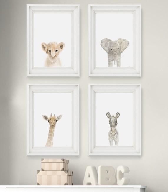 Safari Nursery Ideas: Safari Nursery Prints Set Of 4 By FarmHouseOutlet On Etsy