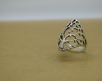 Sterling Silver Tree of Life Ring Wrap