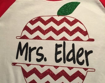 Customized Teacher Shirt