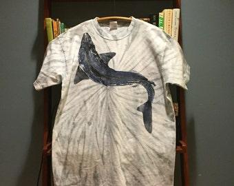 Whale print Tie dye