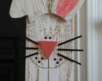 Easter Bunny with carrot