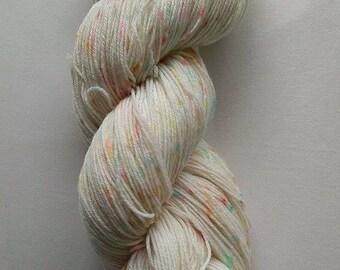 Rainbow Speckles - 4ply sock