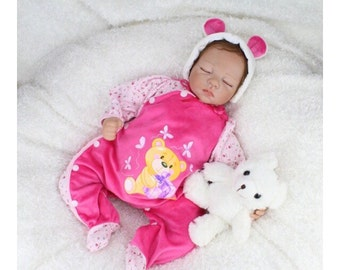 3/4 vinyl reborn baby doll, NOT handwork