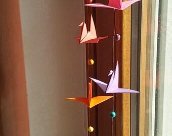 origami crane to hang