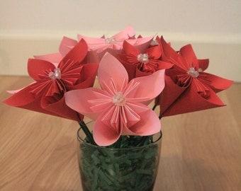 Paper Flower Kusudama Origami Wedding Centerpiece