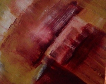 SALE! 35% off: Grieg - Original Abstract Painting on Canvas