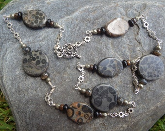 Fossil Stone Necklace #72