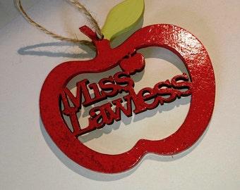 Glittery teacher gifts