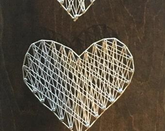 Descending hearts