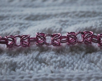 Perfectly Pink Chainmaille Bracelet