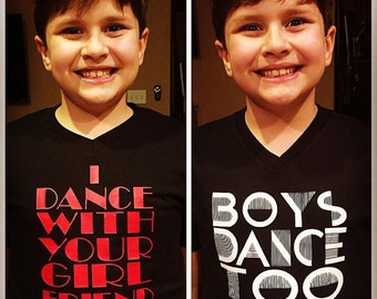 Boys Dance Too Shirt