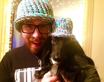 Custom matching hat for you and your pet!