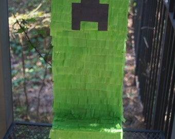 Minecraft Creeper Pinata, Minecraft Creeper Piñata, Minecraft Creeper, Minecraft Pinata, Minecraft