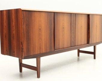 Danish Mid-Century Modern Rosewood Sideboard 4 Drawer