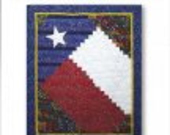 Texas Pride Quilt Pattern by Debonaire Designs (a 2 1/2 inch strip project)