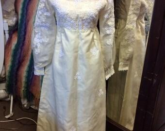 Vintage/Boho wedding gown #1