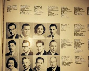 Boston University 1954 Yearbook