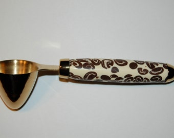 1 Tablespoon Coffee Scoop with Coffee Bean Handle
