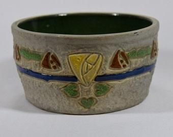 Roseville Mostique Pottery Bowl
