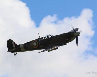 Battle of Britain 75th Anniversary Spitfire Vb BM597 #2 Photograph Print