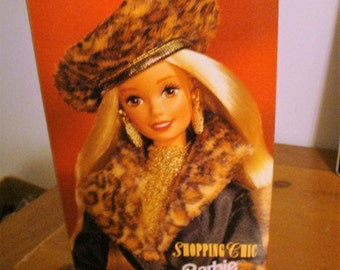 "Barbie ""SHOPPING CHIC"" with poodle limited Speigel Edition 1995"