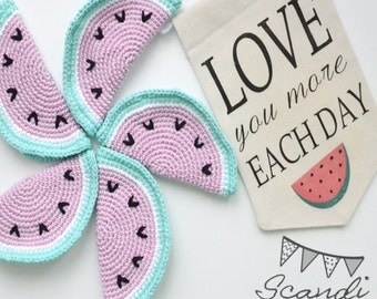 Nursery Decor. Baby Room Wall Hangings. Wall Banner. Nursery Wall Hangings.  Wall Decor. Home Decor. Love you more each day. Present. Gift,