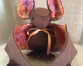 LARGE DESERT SUNSET Plush Bat