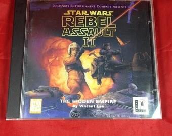 Star Wars Rebel Assault  1 disc / Dark Forces