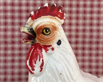 Vintage Chicken Figurine