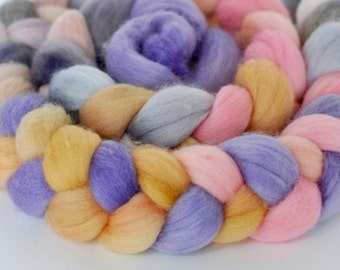 Cosmos on BFL Wool Roving