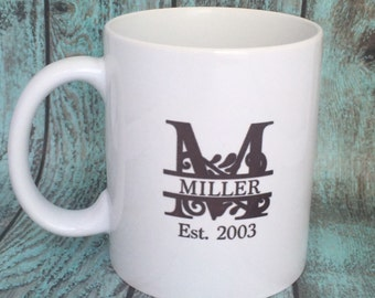 established coffee mug letter mug sale mug sassy mug mean mug dishwasher safe