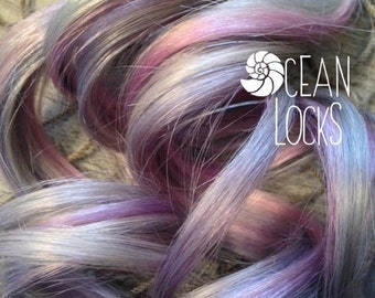 Moonlight Hair Extensions, Hair extensions clip in, Ombre hair extension, Pastel hair , Grey Hair, Lavender Hair, Silver Hair
