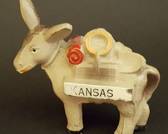 Democrat Memorabilia Donkey from Kansas