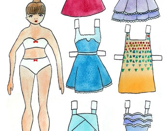 Paper Doll 3 (Party)