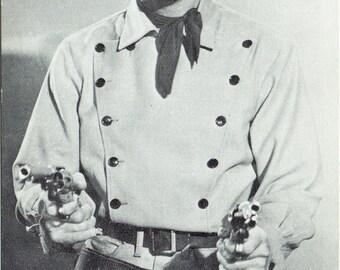 Mark Stevens #204 Vintage Western Penny Arcade Card