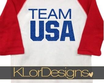 Team USA Olympics toddler shirt, Olympics kids shirt, team usa kids