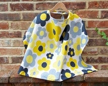 Breastfeeding cover up/Nursing cover up/baby feeding/Modesty Shawl/Floral 100% cotton