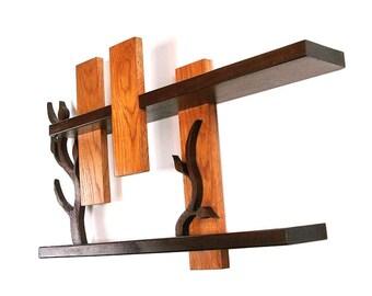 mini ch ne arbre branche tag re 10 m de large r alis sur. Black Bedroom Furniture Sets. Home Design Ideas